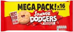 Jammie Dodgers Raspberry Flavour (Mega Double Pack = 280g) was £1.00 now 75p @ Iceland