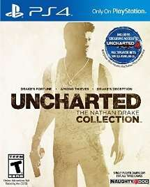 UNCHARTED: The Nathan Drake Collection - PlayStation 4 [Download Code] - £16.50 Amazon USA