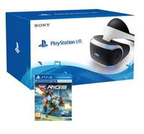 Sony PlayStation VR (PSVR) + RIGS Mechanized Combat League £404.86 @ Shopto