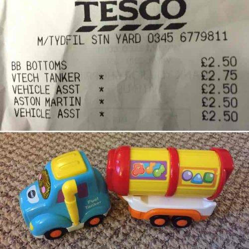 Vtech Toot Toot Fuel Tanker £2.75 @ Tesco instore