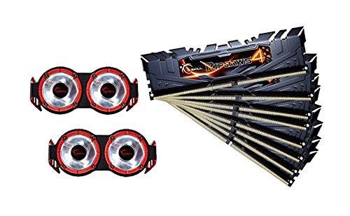 G.SKILL Ripjaws 4 Series F4-2800C15Q2-128GRKD DDR4 2800 MHz 128GB Memory Kit - Black £265.31 @ Amazon