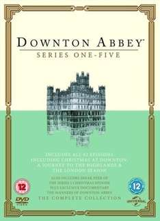 Downton Abbey Series 1 to 5 box set  RRP £49.99 ( 87% OFF) only £6.09 from Zoom on Ebay