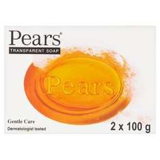 Pears transparent soap (2 x 100g bars) 59p Waitrose