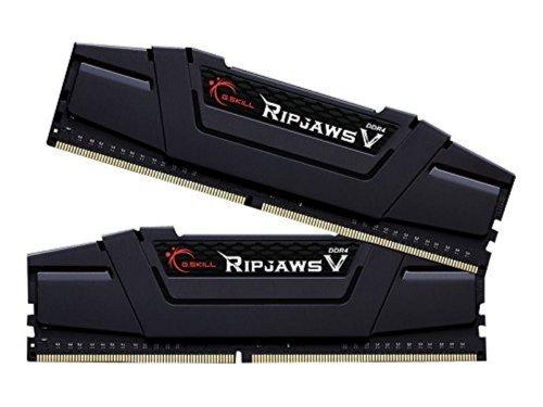 G.SKILL Ripjaws V Series F4-3200C16D-32GVKA 32 GB (16 GB x 2) DDR4 3200 MHz C16 1.35 V Memory Kit - Classic Black £87.10 @ Amazon