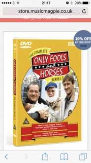 Only fools & horses seasons 1-2-4-6-7 £1.19 each @ Music magpie
