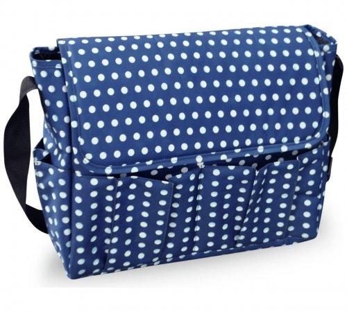 BabyStart Dark Blue Polka Dot Changing Bag £6.99 @ Argos (Free C&C)