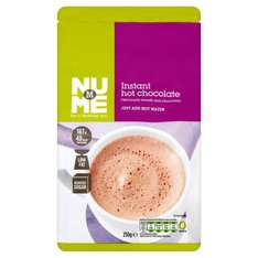 Morrisons NuMe Low Calorie Hot Chocolate Drink 250g 50p was 85p