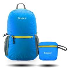 Gonex Ultra Lightweight Packable Backpack / Handy Foldable Ultralight and Handy - 6.5 OZ Only + 3 Color Choices £8.99 (Prime) £12.98 (Non Prime) Sold by YPC-UK and Fulfilled by Amazon