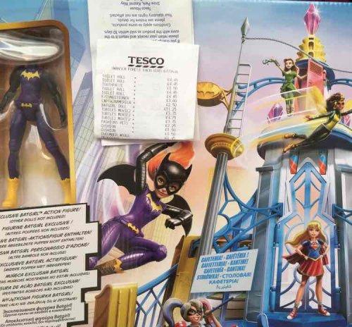 DC Superhero girls high school instore @ Tesco £11.25 from £50