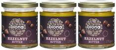 Biona Organic Hazelnut Butter 170 g (Pack of 3) £4.49 amazon add-on