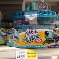 lil live pets turtle £5.00 tesco instore