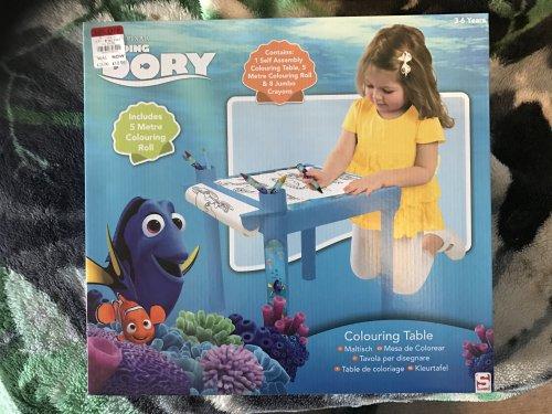 finding dory colouring table £7.50 Debenhams instore / Online
