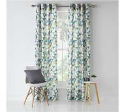 Unlined Eyelet Curtains - 117x137cm - £5.99 @ Argos