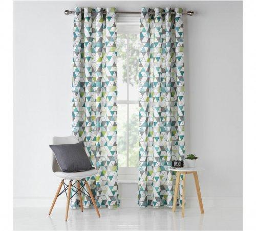 Unlined Eyelet Curtains - 117x182cm - £7.99 @ Argos