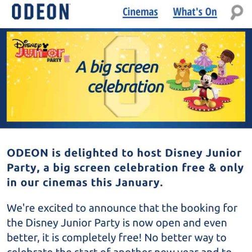 FREE Disney sing a long and interactive film screenings