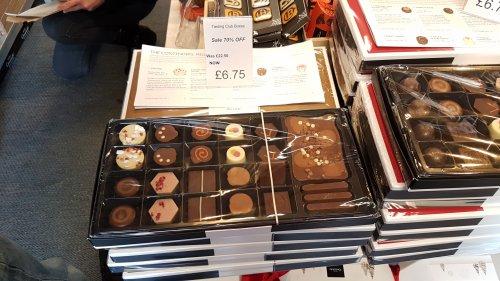 Tasting Club box was £22.50 now £6.75 (70% off) @ Hotel Chocolat Factor shop