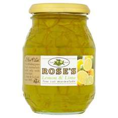 Rose's Lemon and Lime Marmalade 454 grams dated Oct 2019 - 99p instore Home bargains