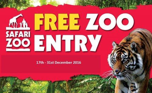 South Lakes Safari zoo. free zoo entry until 11/02/2017