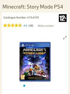 Minecraft Story Mode for PS4 £16.14 at Tesco Direct