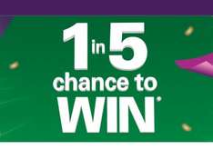 BP swipe to win with Nectar - 1 in 5 a winner of 25 to 100,000 points, every day until 6 March 2017.