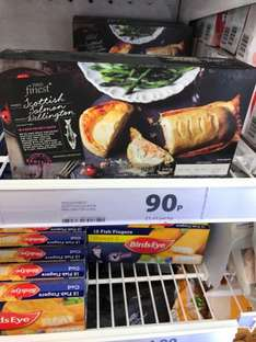 Tesco Finest Scottish Salmon Wellington 640G 90p instore