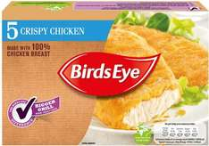 Birds Eye Crispy Chicken (51% Breast of Chicken & 5 per pack = 450g) was £3.00 now £1.50 @ Sainsbury's