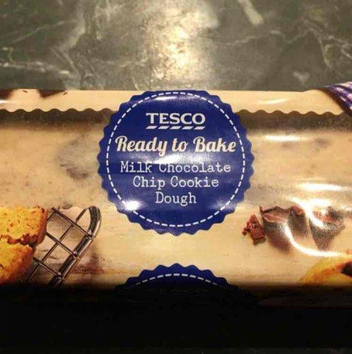 Tesco Raw Chocolate Chip Cookie Dough £1.50 instore