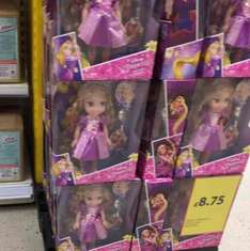 Disney Princess Hair Glow Rapunzel Tesco Stockport £8.75