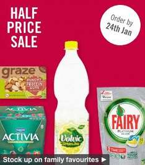Ocado half-price sale now on, from £1