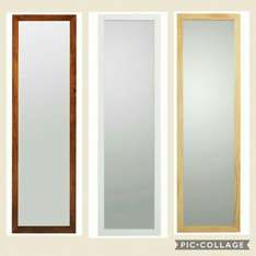 HOME Wooden Full Length Mirror ~ 3 Colours White/Oak/Walnut 1/2 Price £12.49 WAS £24.99 ARGOS (FREE C&C)