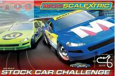 Hornby Micro Scalextric Stock Car Challenge Set £90 down to £30.99 with P&p from Debenhams