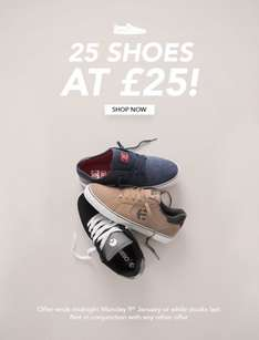 Rollersnakes 25 Shoes at £25 (Brands - DC, Etnies, Osiris) @ Rollersnakes