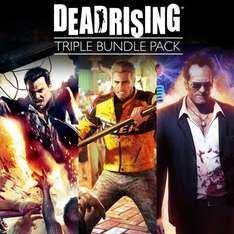 Dead Rising Triple Pack PS4 Remasters £29.99 (£25.99 with PS Plus) @ Playstation store
