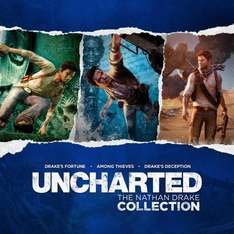 Uncharted Collection PS4 £19.99 (£16.99 with PS Plus) @ Playstation Store