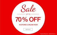 MATALAN up to 70% off now instore and online