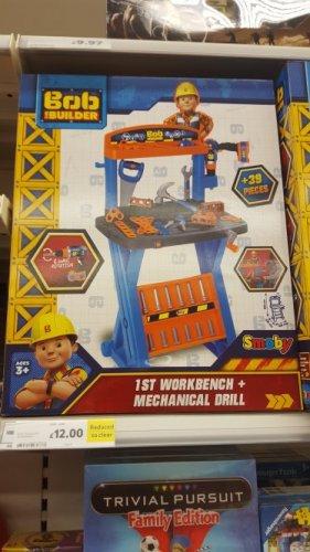 bob the builder kids worktop @ Tesco insore Elmers End - £12