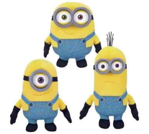 Minions Soft Toy Plush Assorted £3.99 each @ Argos