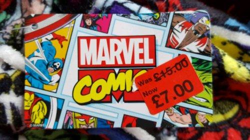 Marvel and Superman fleece dressing gowns....£7....Primark