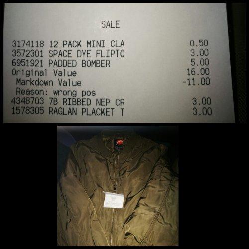 Ladies bomber jackets - £5 instore @ Primark