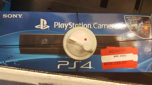 Playstation 4 Camera (V1) £25 @ Asda Instore
