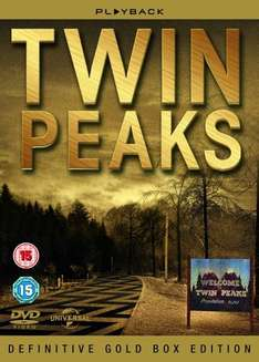 Complete Twin Peaks boxset with lots of extras! £10 instore @ Tesco