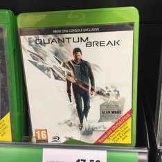 Quantum Break (Xbox One) - Tesco Instore / online - £17.50