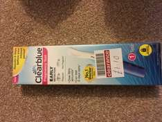 Clearblue pregnancy test £1.10 @ boots in Andover