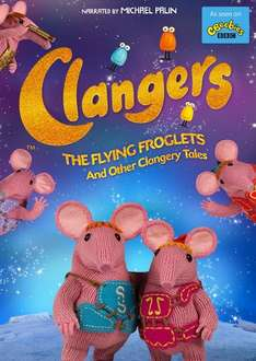 Clangers (new version) Flying Froglets and Other Clangery Tales Season 1 DVD £2 with free delivery @ Tesco Direct