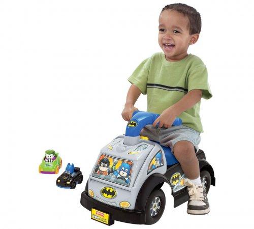 Fisher Price DC Batman ride on with 2 wheelie cars was £49.99 now £23.99 @ Argos
