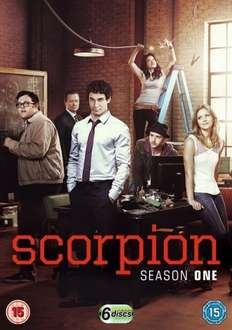 Scorpion Season 1 DVD Boxset £5.75 with free delivery using code SIGNUP10 @ zoom.co.uk