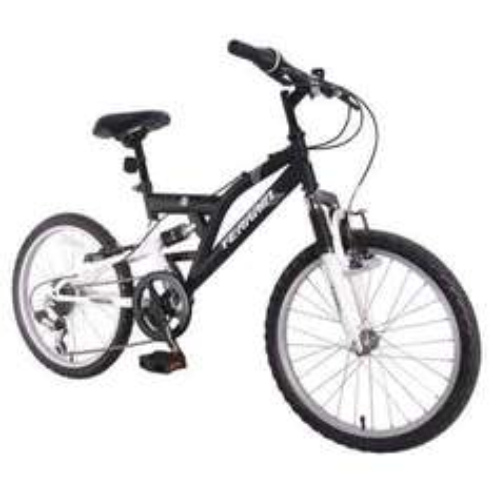 "Terrain Freemont 20"" Dual Suspension Boys 14"" Black Mountain Bike WAS £160 NOW £45 @ tesco direct"