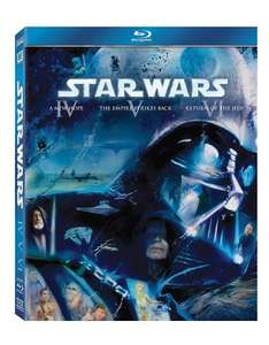 Star Wars: The Original Trilogy (Episodes IV-VI) Blu Ray - £15.99 Prime / £17.98 non prime @ Amazon