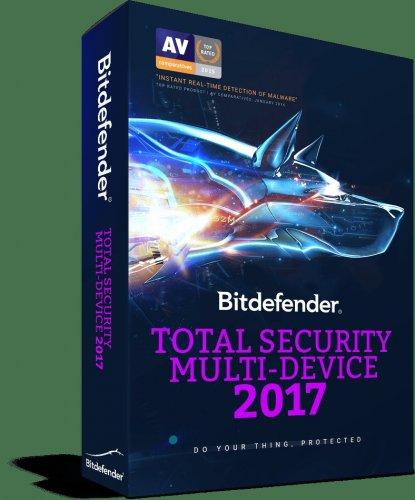 Bitdefender Total Security 2017 up to 5 devices £12.57 @ Bitdefender store