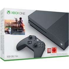 Storm Grey Xbox One with Battlefield 1 and Gears of War 4 £249.99 @ Game